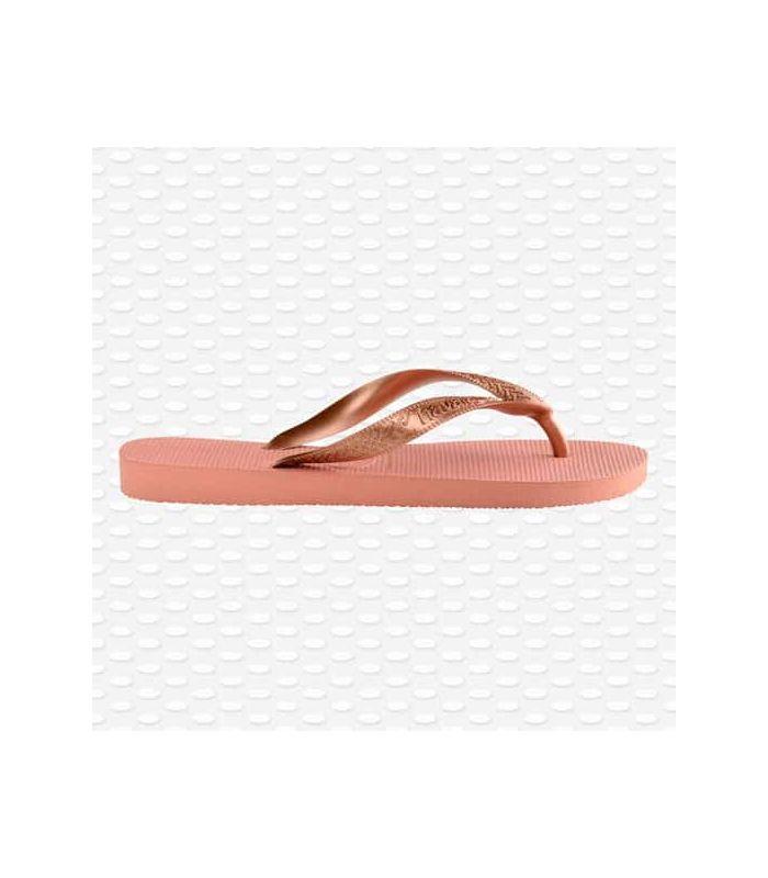 Tienda Sandalias / Chancletas Mujer - Havaianas Top Tiras rosa Sandalias / Chancletas