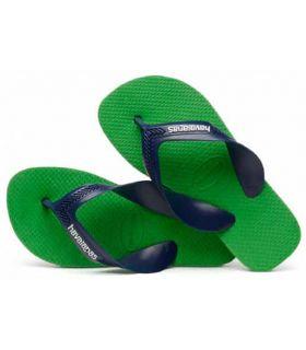Havaianas Kids Max Vert Havaianas Magasin-Sandales / Tongs, Sandales Junior / Flip-Flops