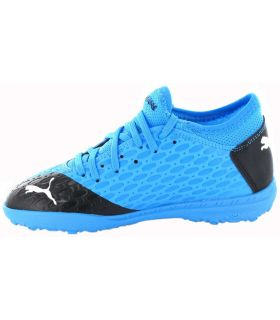 Bottes de football Junior-Puma Future 5.4 VTT Bleu