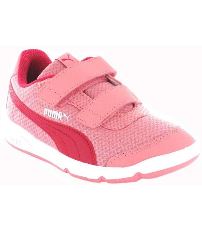 Puma Stepfleex 2 Fabric Pink - Junior Casual Footwear