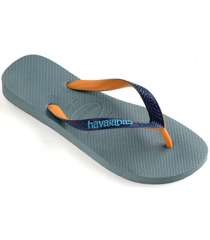 Tienda Sandalias / Chancletas Hombre - Havainas Top Mix Azul azul Sandalias / Chancletas
