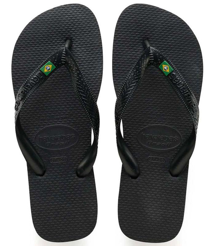 Havaianas Brasil Negro - Tienda Sandalias / Chancletas Hombre