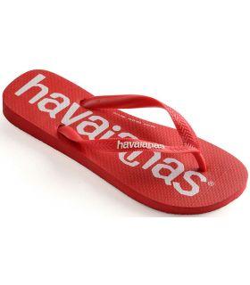 Havaianas Top Logomania Rouge Havaianas Magasin-Sandales / Tongs Homme Sandales / Tongs