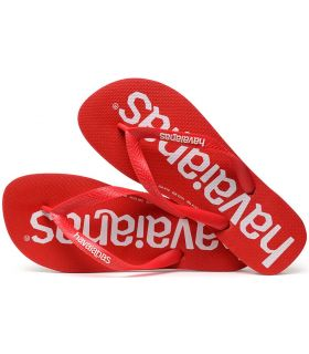 Havaianas Top Logomania Red Havaianas Store-Sandals / Flip-Flops Man Sandals / Flip-Flops