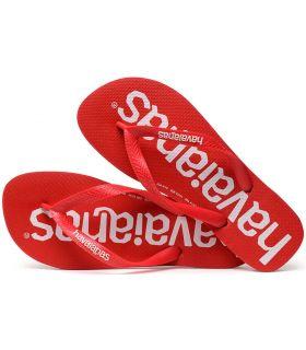 Tienda Sandalias / Chancletas Hombre - Havaianas Top Logomania Rojo rojo Sandalias / Chancletas