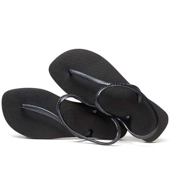 Shop Sandals/Women's Chanclets-Havaianas Flash Urban Plus black Sandalias/Chancletas