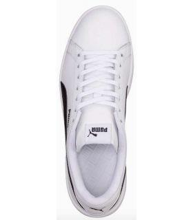 Puma Smash v2 L BN Puma Shoes Casual Man Lifestyle Sizes: 41, 42, 43, 44, 45, 46; Color: white