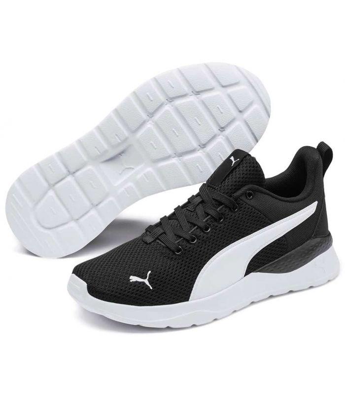 Puma Anzarun Lite Youth Puma Casual Footwear Lifestyle Junior Sizes: 36, 37, 38, 39; Color: black