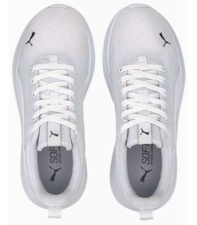 Puma Anzarun Lite Youth White Puma Casual Footwear Lifestyle Junior Sizes: 36, 37, 38, 39; Color: white