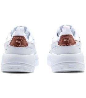 Puma X-Ray Metallic White Puma Shoe Women's Casual Lifestyle Sizes: 36, 37, 38, 39, 41; Color: white