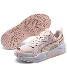 Puma X-Ray Métallisé Rose Puma Chaussures de Femmes de mode de Vie Décontracté Tailles: 36, 37, 38, 41; Couleur: rose