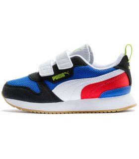Puma R78 Jr Puma Casual Footwear Lifestyle Junior Sizes: 28, 29, 30, 31, 32, 34, 35, 36, 37,5, 38, 38,5; Color: blue
