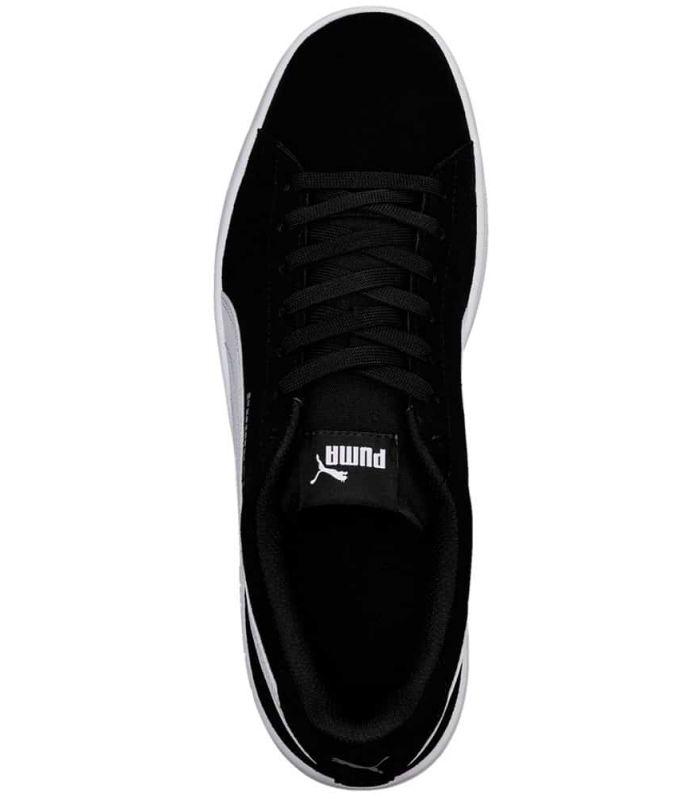 Puma Smash v2 Black - Casual Footwear Man