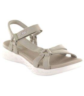 Skechers Brilliancy Beige - Shop Sandals / Flip Flops Women