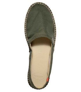 Havaianas Origine 3 Green Havaianas Casual Footwear Mens Lifestyle Size: 40; Color: green
