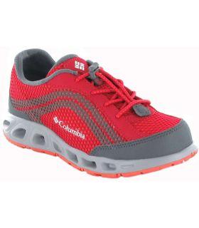 Columbia Drainmaker Jr Fuchsia-Britannique, Chaussures De Running Enfant Chaussures De Course Running Tailles: 32, 33, 34, 35,
