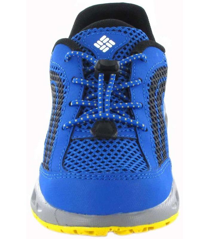 Columbia Drainmaker Jr Blue - Running Boy Sneakers