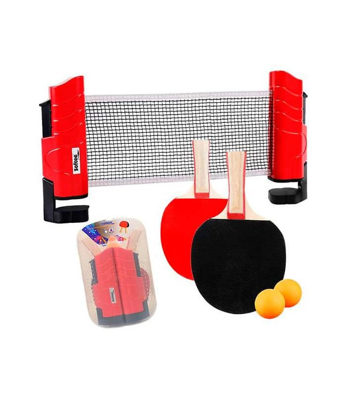 Palas Tenis Mesa - Softee Kit Tenis de Mesa rojo Tenis Mesa