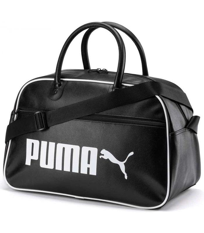 Puma Bolsa de mano Campus Retro Puma Bolsas pequeñas Bolsas Mochilas Color: negro