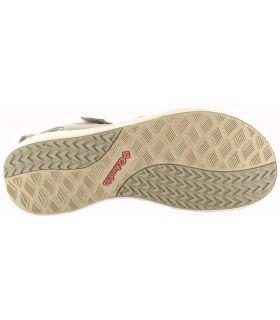 Columbia Sandale LE2 Beige Magasin Columbia Sandales / tongs Femmes Sandales Pantoufles Taille: 37, 38, 39, 40