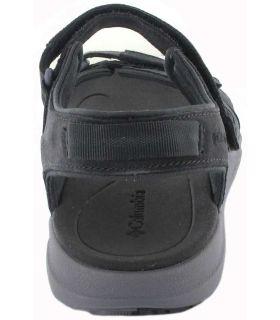 Columbia Sandale LE2 Noir Magasin Columbia Sandales / tongs Femmes Sandales Pantoufles Taille: 37, 38, 39, 40