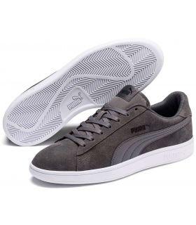 Calzado Casual Hombre - Puma Smash v2 Gris gris Lifestyle