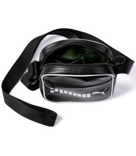 Sac Puma Campus est Portable Puma Rétro petits Sacs de sacs de Sacs de Sacs à dos, Couleur: noir