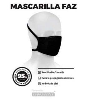 Mascarillas Deportivas - Lurbel Mascarilla Faz negro Running