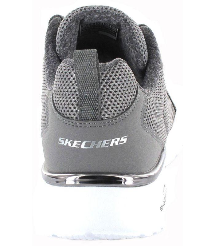 Skechers Rapide de Frein Gris Skechers Chaussures de Femmes de mode de Vie Décontracté Tailles: 38, 39, 40, 41; Couleur: gris