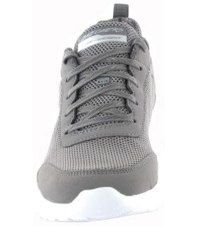 Skechers Fast Brake Gris Skechers Calzado Casual Mujer Lifestyle Tallas: 38, 39, 40, 41; Color: gris