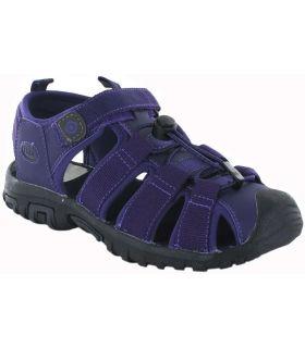 Izas Sandale Glacial II Pourpre Izas Boutique Sandales / tongs Femmes Sandales Pantoufles Taille: 37; Couleur: violet