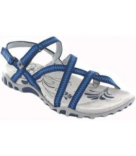 Izas Tena Bleu Izas Boutique Sandales / tongs Femmes Sandales Pantoufles Taille: 37, 39, 41; Couleur: bleu