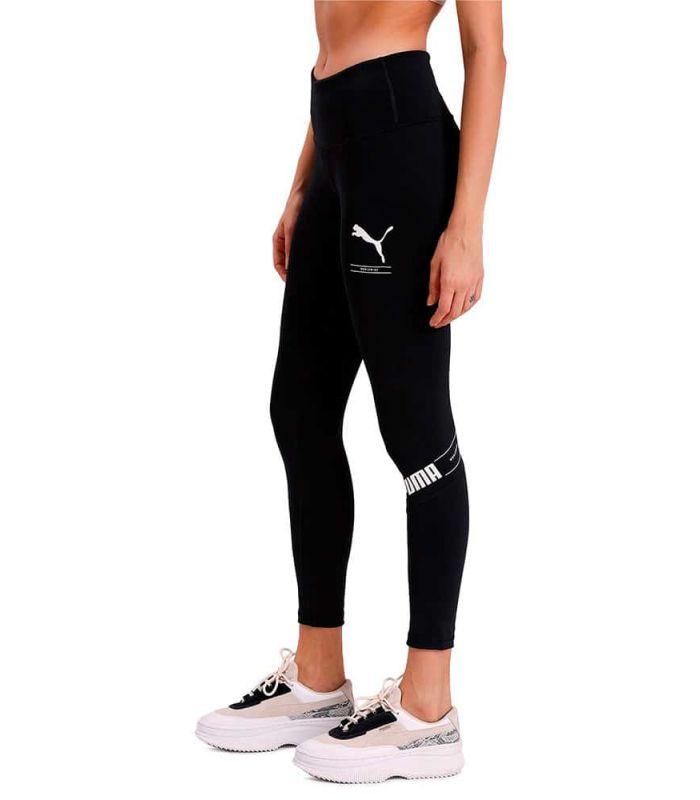 Puma Mesh Nu-tility Leggings Puma Mesh running Textile Running Size: s, m, l; Color: black
