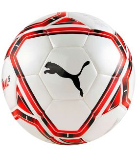 Puma Ball Team END 21.5 Red Puma Footballs football Football Color: white