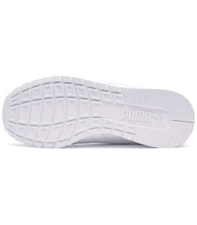 Puma ST Runner v2 L Jr Puma Casual Footwear Lifestyle Junior Sizes: 37, 37,5, 38, 38,5, 39; Color: white