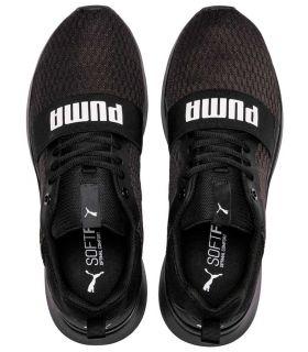 Puma Filaire Noir Chaussures Puma Casual Homme Lifestyle Tailles: 40,5, 41, 42, 42,5, 43, 44, 44,5, 45, 46, 47; Couleur: noir