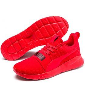 Puma Anzarun Lite Gras Et En Rouge, Chaussures Puma Homme Chaussures De Course Running Tailles: 41, 42, 43, 44, 45, 46; Couleur: