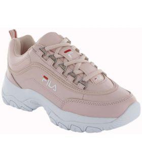 Ligne Strada Faible W Rose Fila Chaussures de Femmes de mode de Vie Décontracté Tailles: 36, 37, 38, 39, 40, 41; Couleur: rose