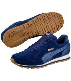 Puma ST Runner SD Puma Calzado Casual Hombre Lifestyle Tallas: 41, 42, 43, 44, 45, 46; Color: azul