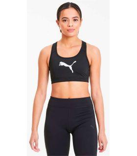 Puma Sujetador deportivo 4Keeps Mid Impact Negro Puma Mallas running Textil Running Tallas: xs, s, m, l; Color: negro