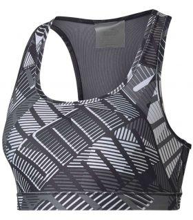 Puma soutien-gorge de formation 4Keeps Graphique Puma Mesh running Textile Running Tailles: xs, s, m, l; Couleur: gris