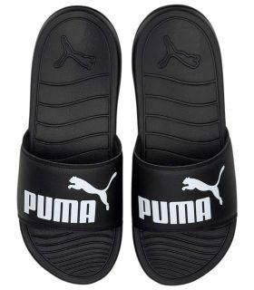 Puma Chanclas Popcat 20 Negro Puma Tienda Sandalias / Chancletas Hombre Sandalias / Chancletas Tallas: 40,5, 44,5;