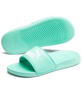 Puma Flip Flops Popcat 20 Green Puma Store Sandals / Flip Flops Women Sandals / Slippers