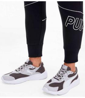 Puma des années 90 Runner Gris