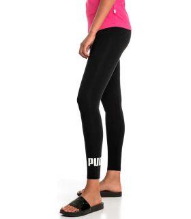 Puma Essentials Logo Leggings Negro Puma Mallas running Textil Running Tallas: xs, s, m, l; Color: negro