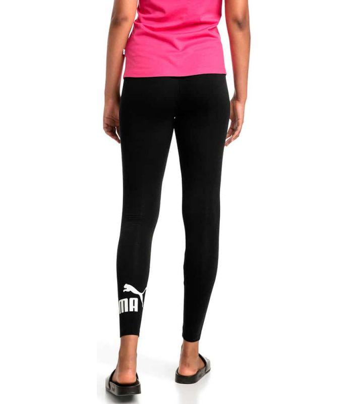 Mallas running - Puma Essentials Logo Leggings Negro negro Textil Running