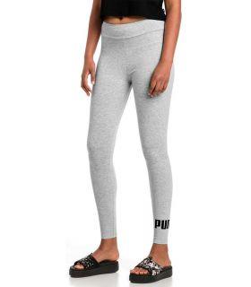 Puma Essentials Logo Leggings Gris Puma Mesh running Textile Running Tailles: xs, s, m, l; Couleur: gris