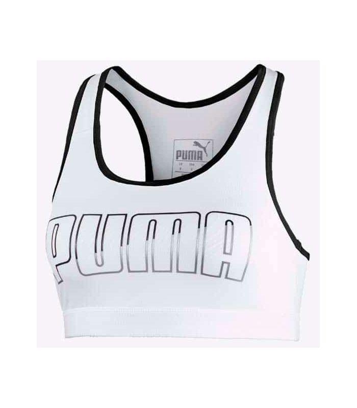 Puma soutien-gorge de sport 4Keeps Milieu d'Impact Blanc