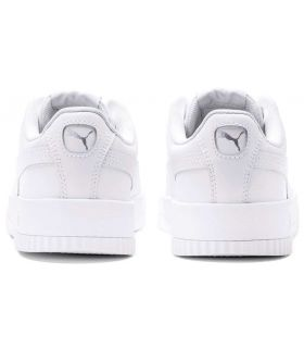 Puma Carina L White Puma Shoe Women's Casual Lifestyle Sizes: 37, 37,5, 38, 38,5, 39, 40, 36, 41; Color: white