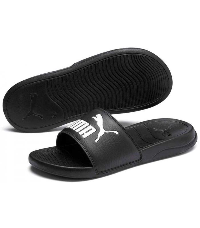 Puma Flip Flops Popcat 20 Ps Black Puma Store Sandals / Flip Flops, Junior Sandals / Flip-Flops Sizes: 28, 29, 31
